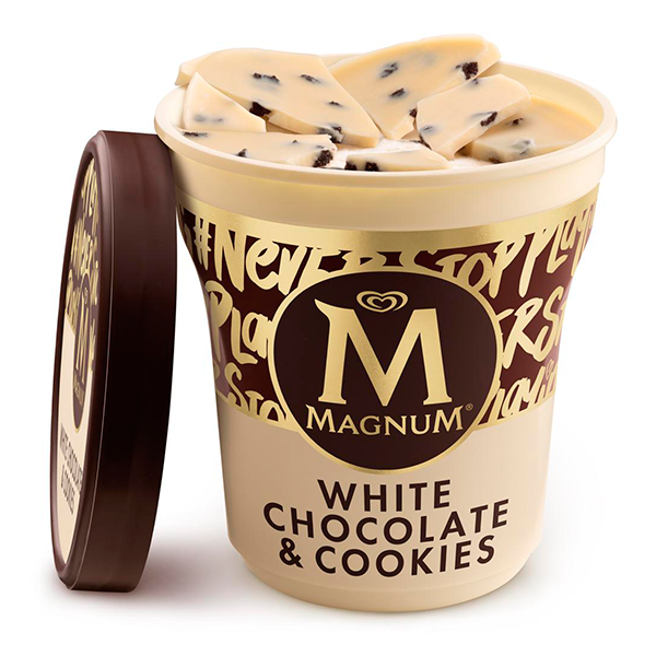 Magnum White Cho.Cookies 440ml