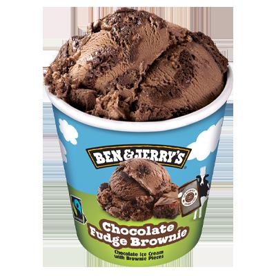 Ben&Jerrys Choco Brownie 465ml