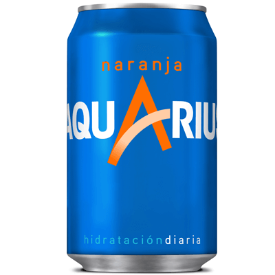 Lata Aquarius de Naranja