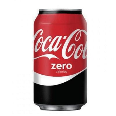 Lata Coca Cola Zero